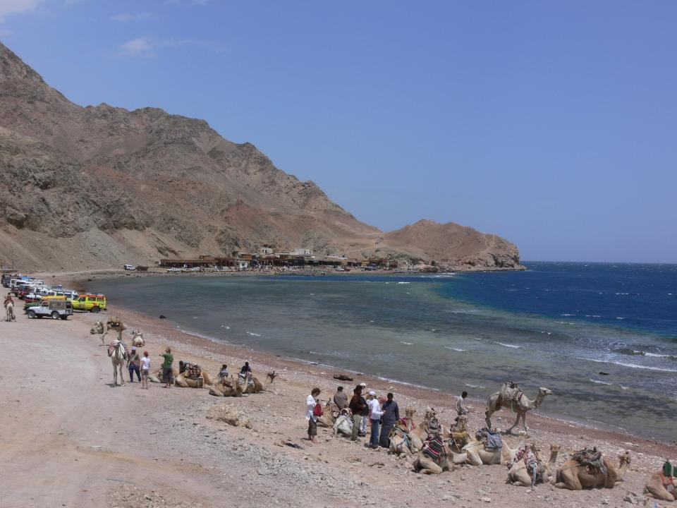 Blue Hole in Dahab